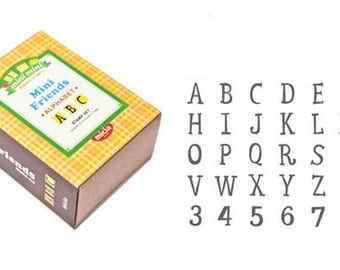 minifriends Alphabet stamp 03 / 04 Uppercase & Lowercase