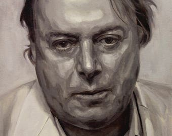 Christopher Hitchens, 8x11 or 13x19in PRINT
