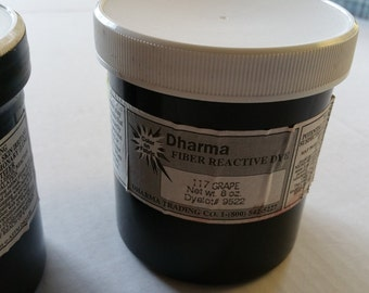 Dharma 117 Grape Fiber Reactive Dye 8 oz