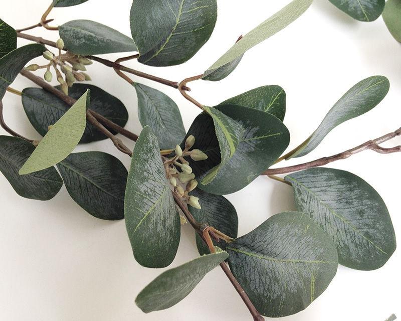 Eucalyptus Faux Eucalyptus Spray Eucalyptus Leaves