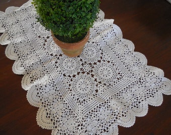 Rectangle Lace Doilies