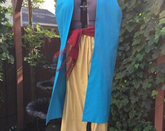 Aladdin Inspired Genie Sheik Costume, Men's size XL