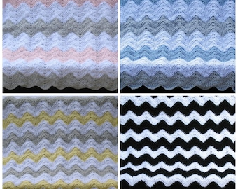Chevron Baby Blanket, Choose Your Own Colors, Chevron Nursery Theme, Chevron Baby Shower Gift, Baby Gift, Gift for Baby, Chevron Decor