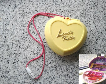 """Polly Pocket Necklace - """"Lovely Kitty"""" FAKIE Polly Pocket, Pet theme, Please read!"""
