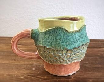 Botanical Layers ceramic mug