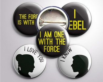"Rogue One-inspired 1"" Buttons"