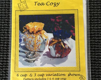 That's My Sister's Tea Cozy Sewing Pattern 2 Sizes UNCUT