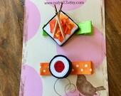 Sushi Feast  Ribbon Sculpture Set