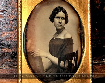 Rare Daguerreotype of Jenny Lind - Famous Singer - By Southworth & Hawes