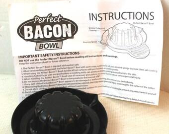 bacon bowl as seen on tv bakeware