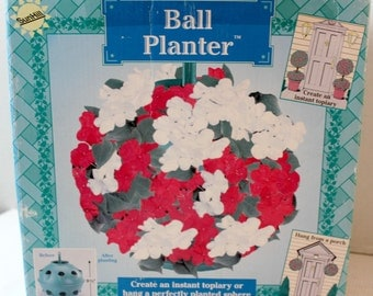 Flower Ball Planter Container Garden Hanging Sphere