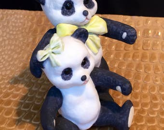 Cybis collectiable Pandas