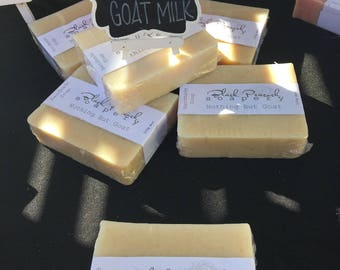 Unscented Goats Milk Bar Soap - no Palm Oil - 150g