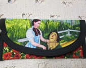 for JC155 Wizard of Oz Dorothy Scarecrow and Ovarian Wallet money clip, 'If I Only had a Heart' 7 x 3 Pouch coin purse, Purse accessory