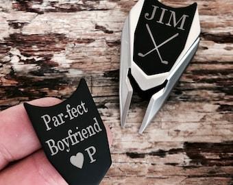 Personalized Golf Ball Marker & Divot Tool Anniversary Gift for Husband, Boyfriend Men Gift for Him, Birthday Gift, Golf Gift for Men