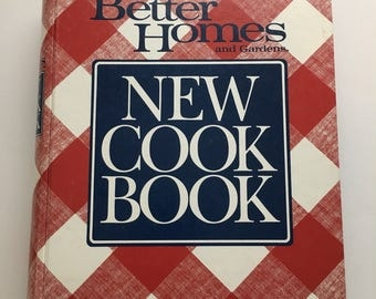 Better Homes and Gardens New Cook Book Binder Printing 1989 Printed in the USA Upcycle planner vintage Recipe Cookbook craft