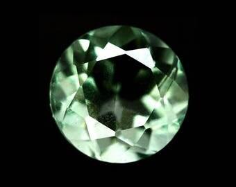 FLUORITE  (34079) * * * * Exotic - Light  Green 8.6mm Fluorite - Exotic!