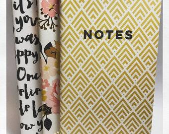 NEW**My Story Mini Notebooks (set of 3)
