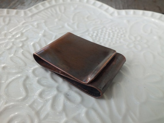 Wide Double Sided Money Clip with Your choice of Texture