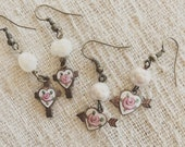 Handmade Vintage Charm Earrings