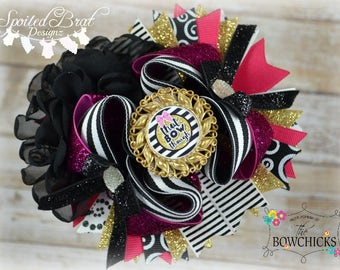That Bow Though OTT Stacked Hairbow, Ready to Ship, Perfect for everyday wear