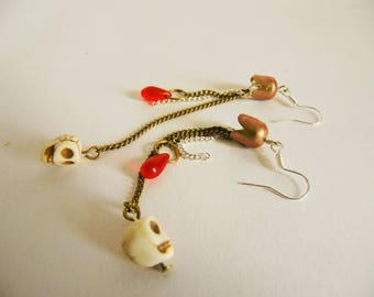 Deadly Jellyfish Earrings