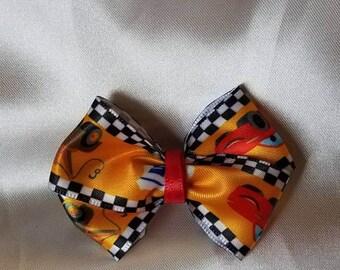 Lightning McQueen bow
