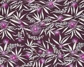 Dandelion in Plum - ISABELLE - Dena Designs - Free Spirit Fabric - By the Yard