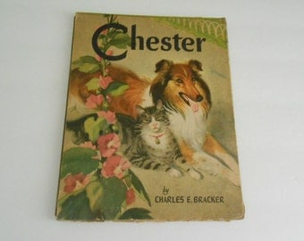 Chester byCharles Bracker 1939 cats and dogs story