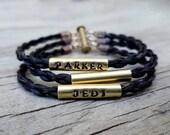 Horse Hair Bracelet with Brass Beads Reserved For brendastanton2
