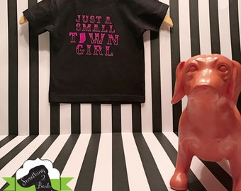Small Town Girl Indiana Kids Shirt