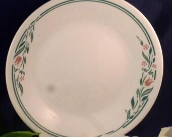 Vintage Corning Corelle Rosemarie Luncheon Plate, 1995