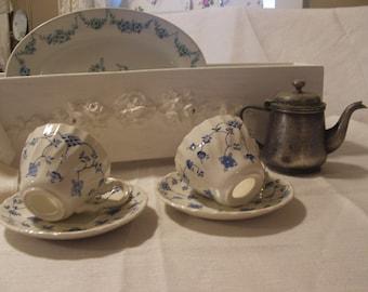 tea cup napkin rings