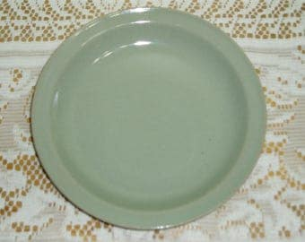 Iron Mountain Stoneware Ice Salad Plate