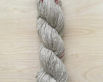 Reclaimed yak wool yarn