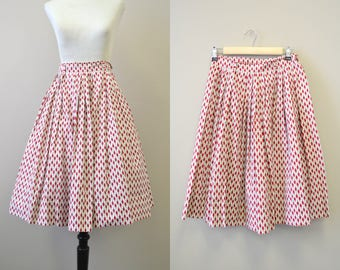 1950s Co-Co Sportswear Fish Skirt