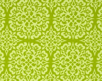 Heather Bailey for Free Spirit - GINGER SNAP - Snowflake in Green - By The Yard