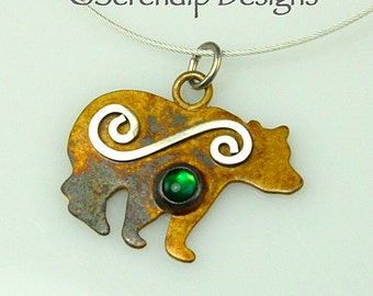 """Shop """"bear necklace"""" in Earrings"""