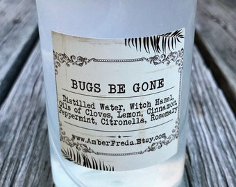 Natural Bug Repellent Spray - Repels Fleas, Ticks and Mosquitos without the chemicals