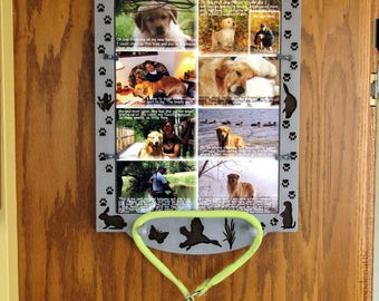 Dog Memorial, Cat Memorial, Pet Memorial, Pet Loss Gift, Pet Collage, Dog Memorial Gift, Pet Picture Frame, Dog Loss Gift