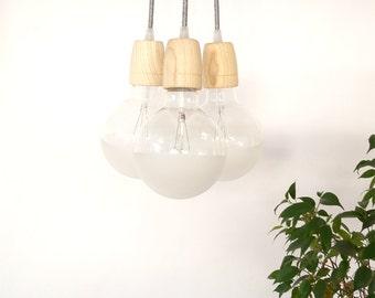 Wood Pendant lamp WOOD 3  Minimal Design