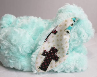 Stuffed Faux Fur Bunny