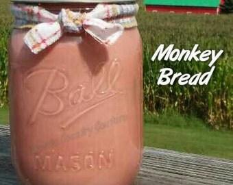 Monkey Bread Soy Candle in 16 oz Jar