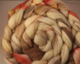 4 ounces Hand Dyed BFL Top