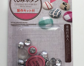 12 mm Fabric Covered Button Starter Kit