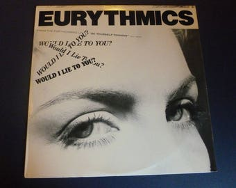 Eurythmics Would I Lie To You? Vinyl Record LP PW-14079 RCA Records 1985