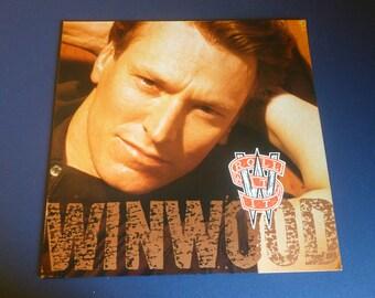 Steve Winwood Roll With It Vinyl Record LP 0-96648 Virgin Records 1988