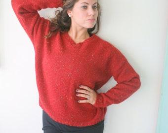 80s pasta sweater | Etsy