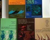 Collection of 9 Scientific Ornithology Bird Books by Arthur Cleveland Bent - 1960s - Vintage Science Book - Antique Science Book