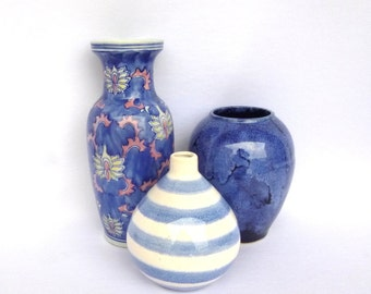 INTSTANT Blue POTTERY COLLECTION
